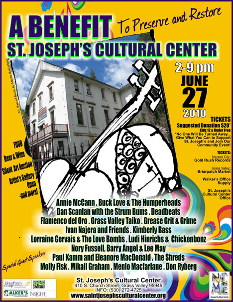 St. Josephs Cultural Center Benefit, Sunday June 27, 2010